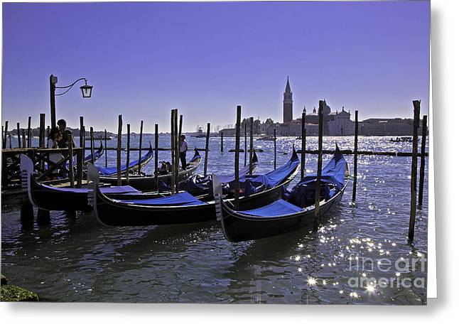 Venice Is A Magical Place Greeting Card by Madeline Ellis