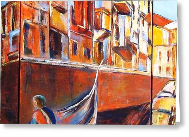 Venice Journey Greeting Card