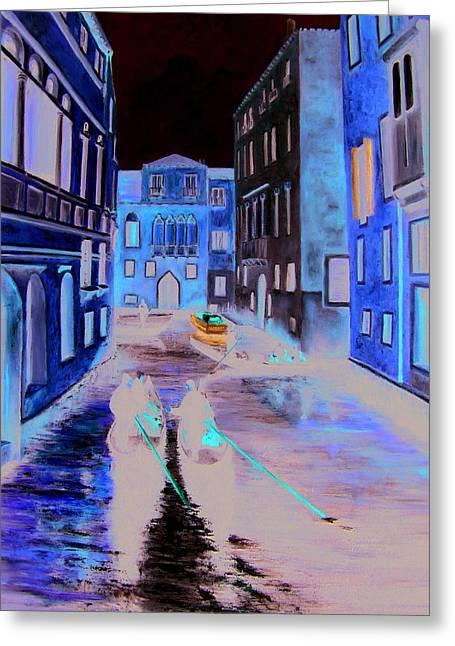 Leonardo Ruggieri Greeting Cards - Venice Greeting Card by Leonardo Ruggieri