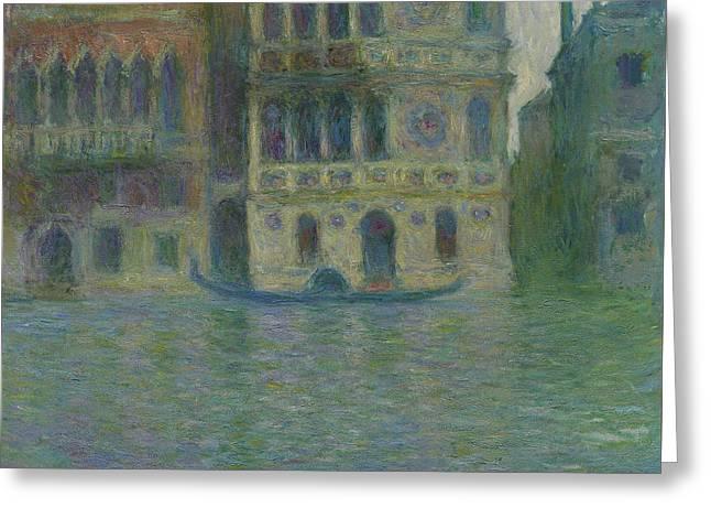 Venice, Palazzo Dario Greeting Card