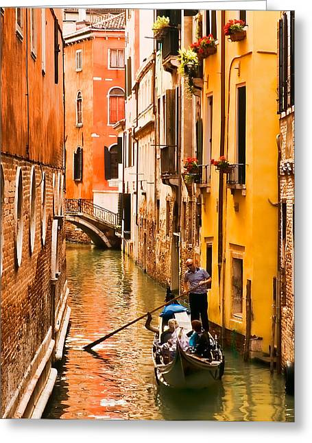 Venice Passage Greeting Card