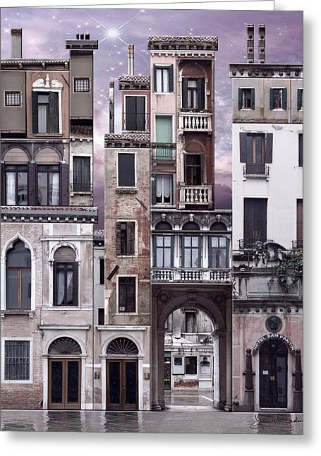 Venice Reconstruction 1 Greeting Card