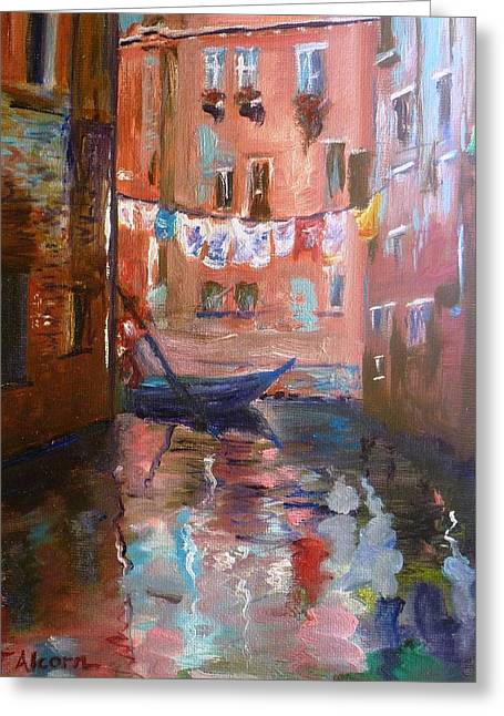 Venice Reflections Greeting Card
