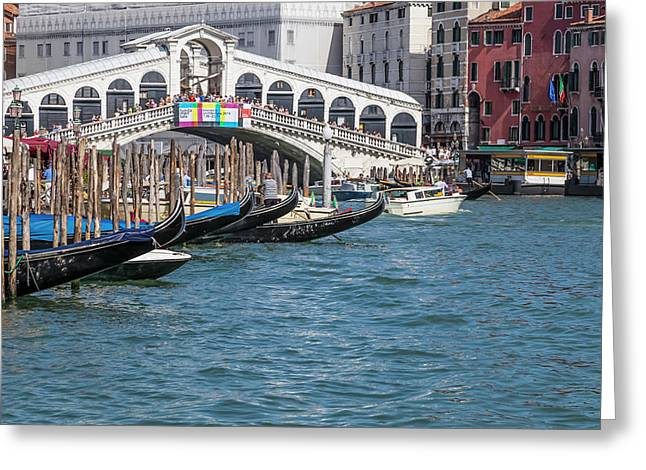 Venice Rialto Bridge Greeting Card