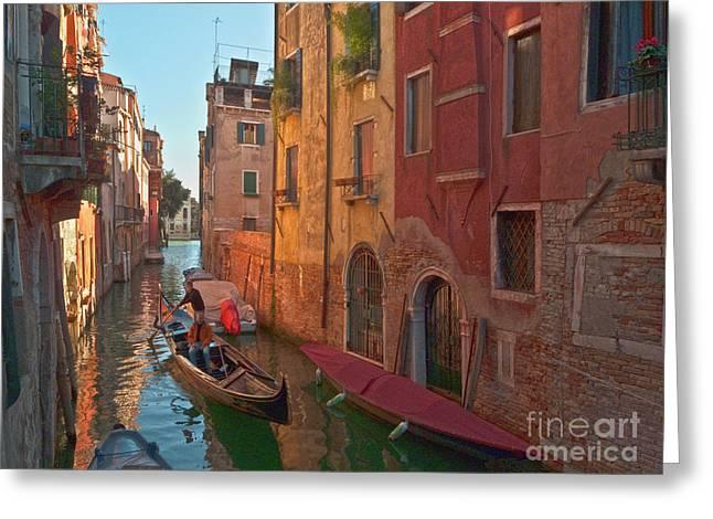 Venice Sentimental Journey Greeting Card by Heiko Koehrer-Wagner