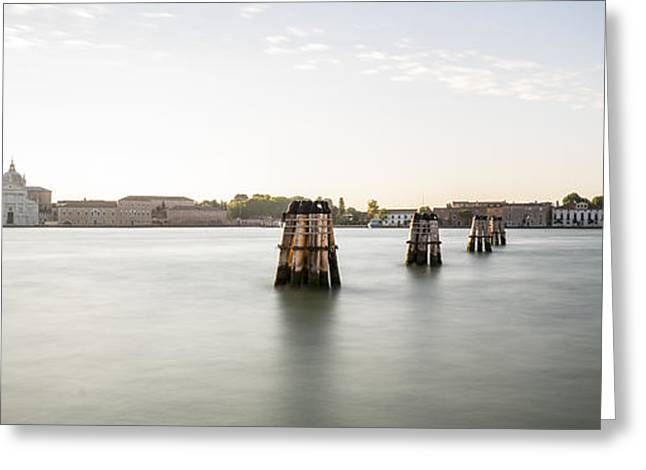 Venice Sunrise 00365 Greeting Card by Marco Missiaja