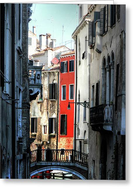 Greeting Card featuring the photograph Venice Xx by Tom Prendergast