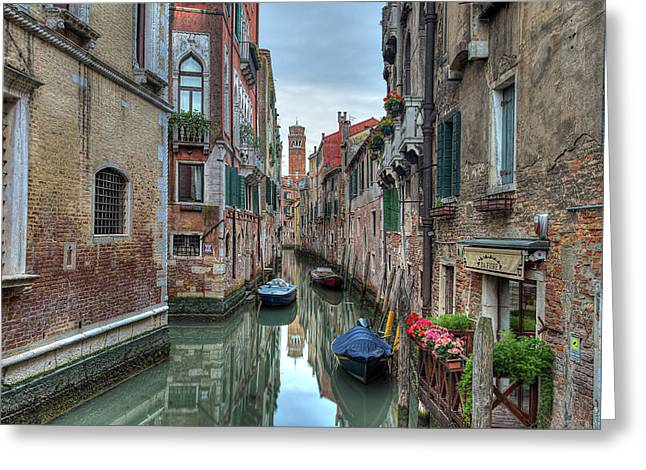 Venetian Morning Greeting Card