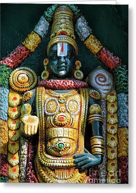 Venkateswara Greeting Card