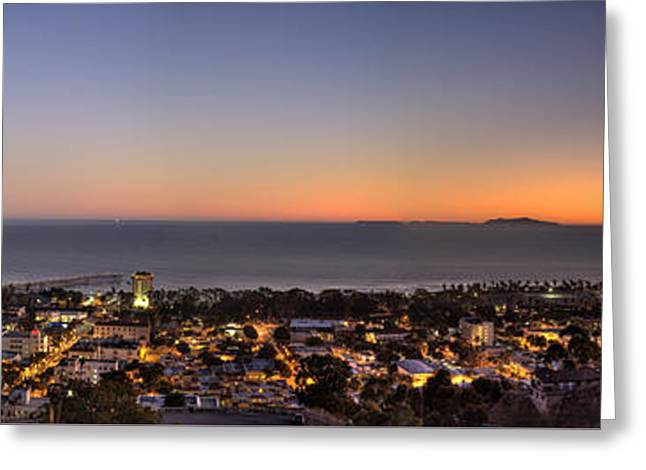 Ventura, Anacapa And Santa Cruz Islands Hdr Greeting Card