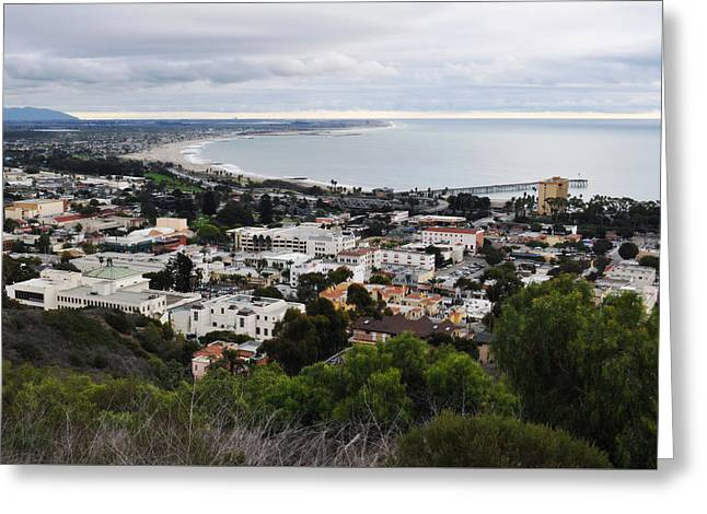 Ventura Coast Skyline Greeting Card
