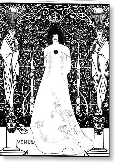 Venus 1895 Greeting Card