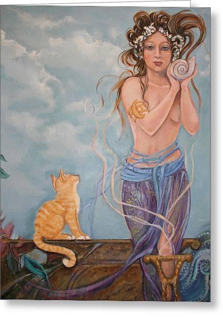 Venus  Greeting Card by Catherine Moore