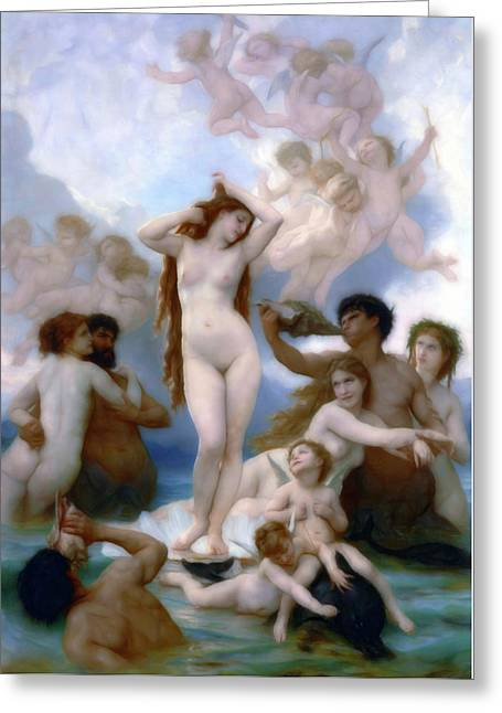 Venus Goddess Of Love Greeting Card