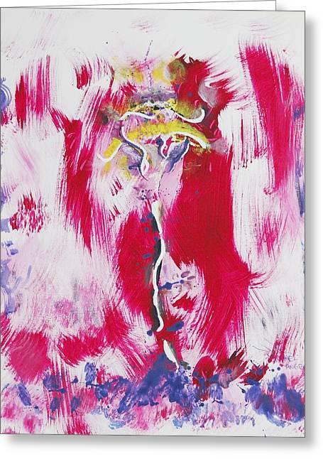 Venus Uprising Greeting Card
