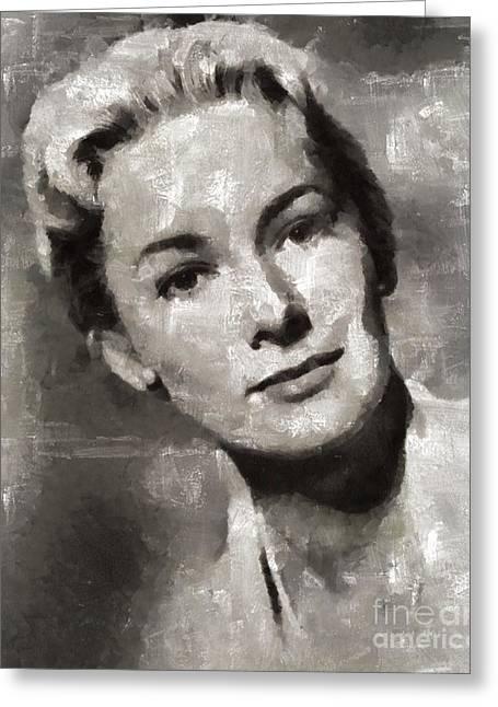 Vera Miles, Actress Greeting Card