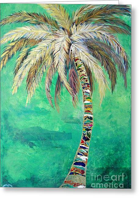 Verdant Palm Greeting Card