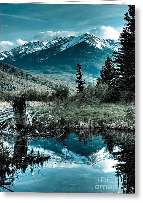 Vermillion Lake Greeting Card