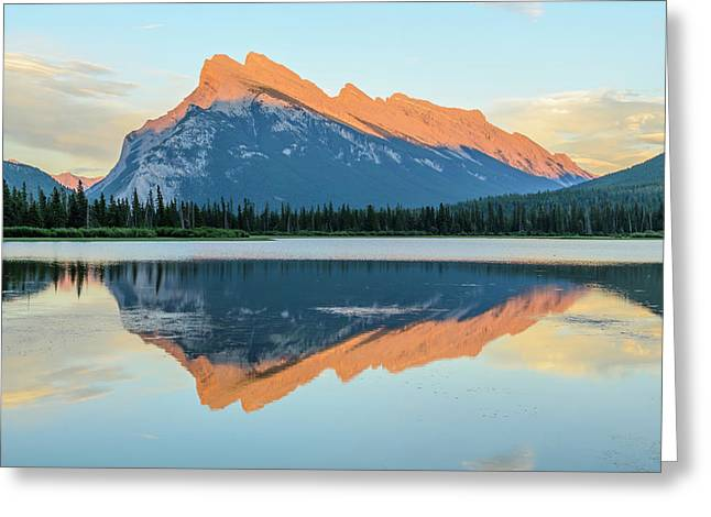 Vermillion Lakes Greeting Card