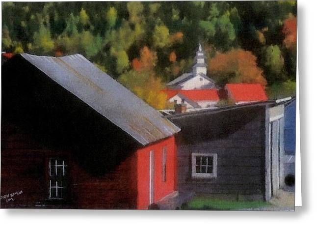 Vermont Again Greeting Card