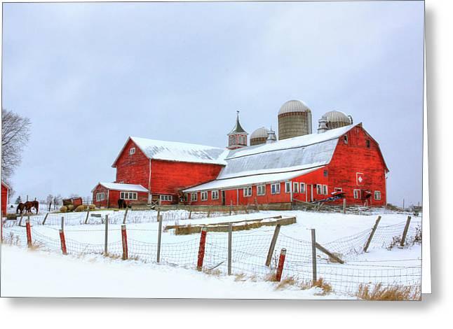 Vermont Barn Greeting Card