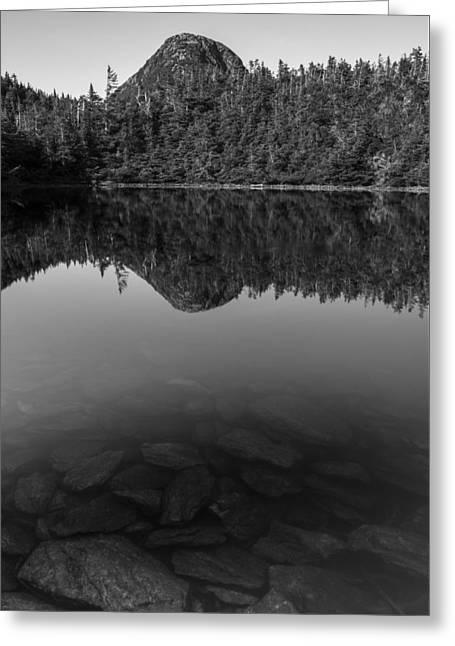 Vermont-mount Mansfield-mountain-pond Greeting Card