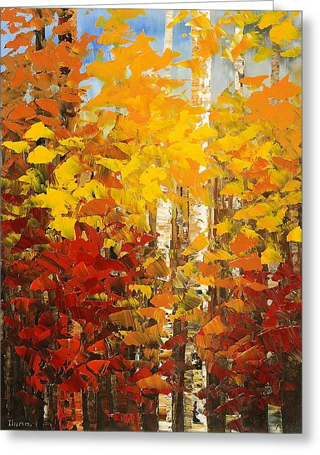 Vermont Palette Greeting Card