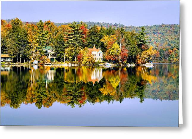 Vermont Reflections Greeting Card