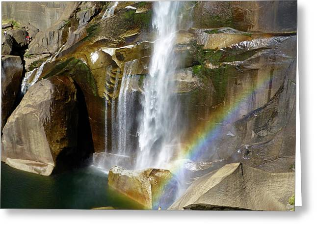 Vernal Falls Mist Trail Greeting Card