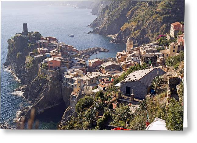 Vernazza And The Cinque Terre Greeting Card