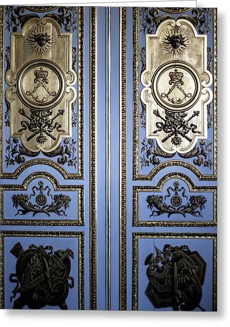 Versailles Door Greeting Card