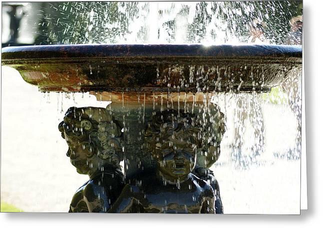 Versailles Fountain Greeting Card