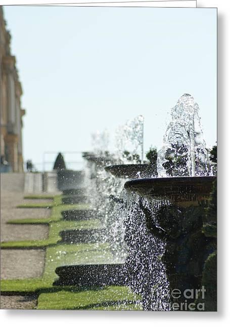 Versailles Fountains Greeting Card