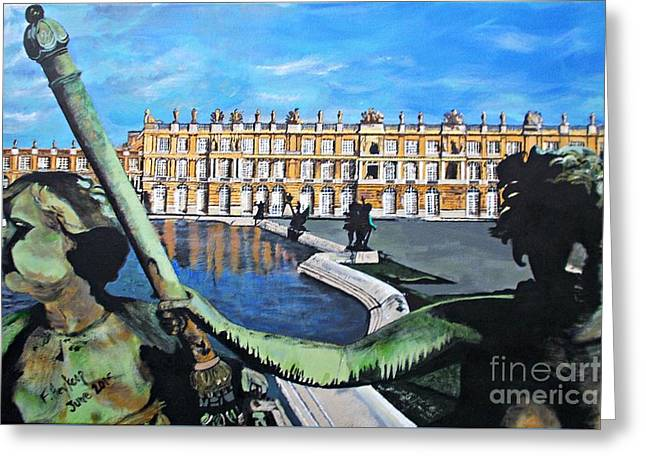 Versailles Palace Greeting Card