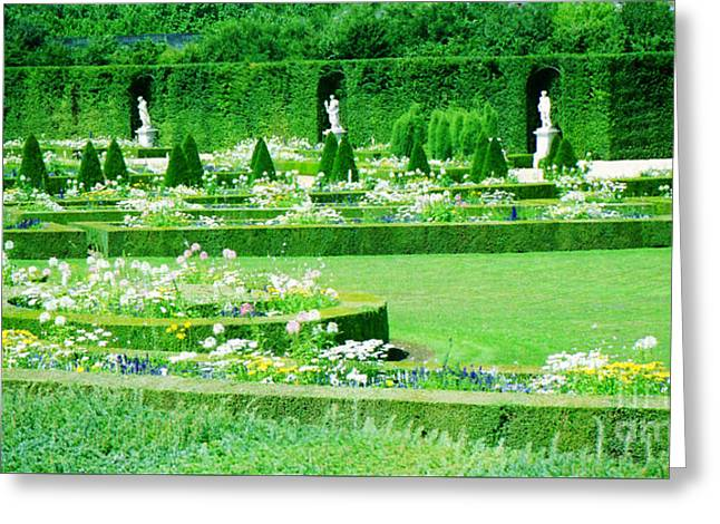 Versailles Pathways Greeting Card