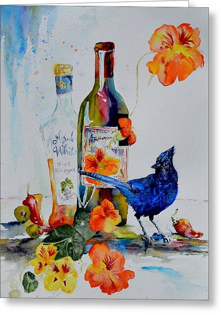Still Life With Steller's Jay Greeting Card