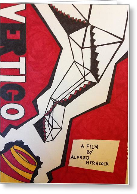 Vertigo Poster Greeting Card by Win Homer