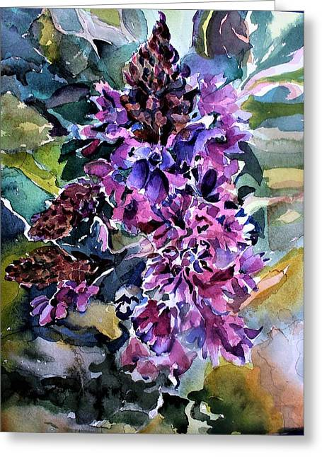 Vervain Wildflowers Greeting Card
