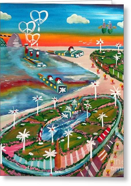 Verve Island Greeting Card