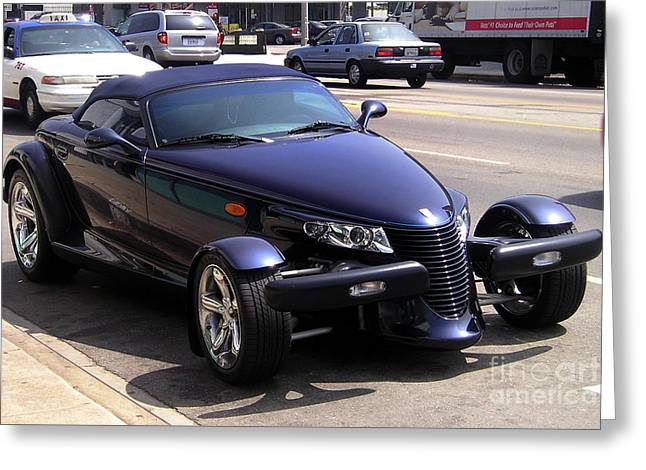 Prowler. Very Cool Sport Car Greeting Card