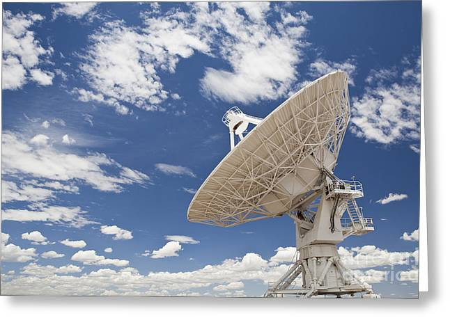 Very Large Array Antenna Greeting Card