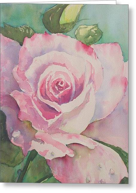 Very Rose  Greeting Card