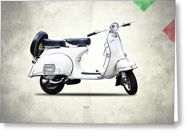 Vespa 150 1966 Greeting Card