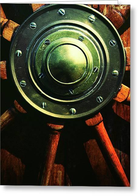 Vessels Wheel Greeting Card