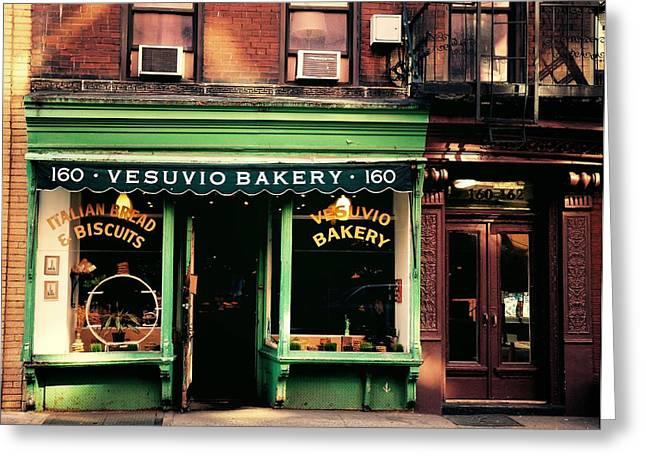 Vesuvio Bakery - Soho - New York City Greeting Card
