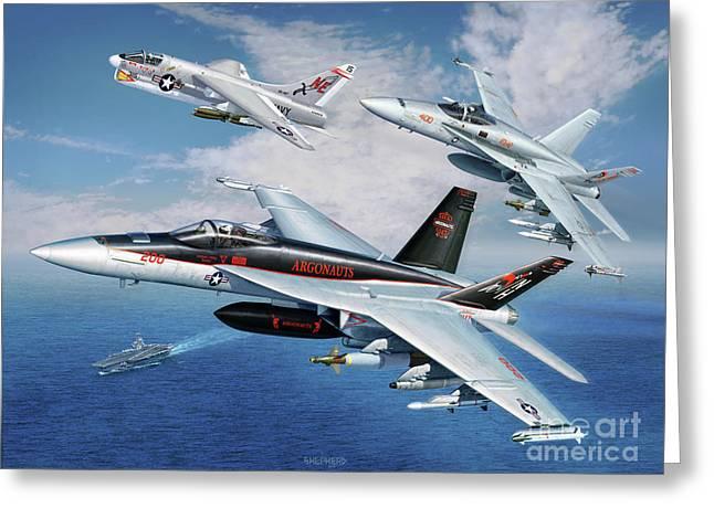 Vfa-147 Argonauts Legacy Greeting Card