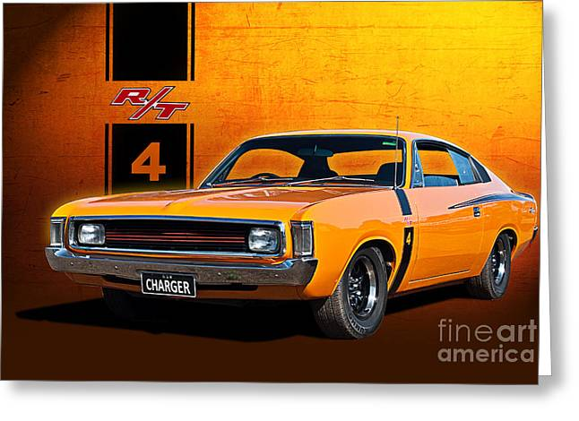 Vh Valiant Charger Greeting Card