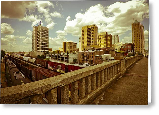 Viaduct View Greeting Card