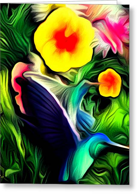 Vibrance Greeting Card