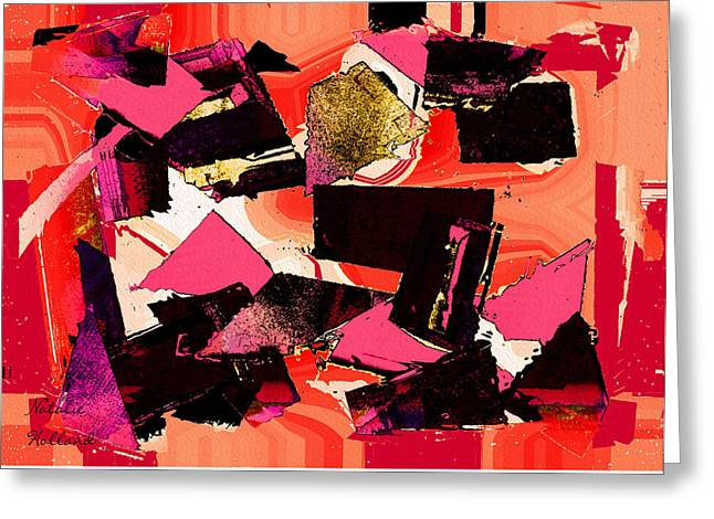 Vibrant Abstract Greeting Card